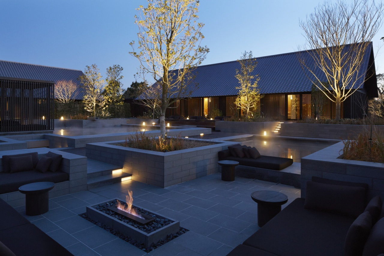 Aman s first hot spring resort amanemu opens in japan for Hotel design genes